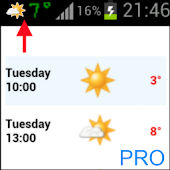 Weather Notification Icons PRO