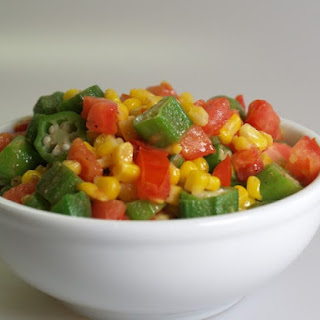 Corn With Okra And Tomatoes