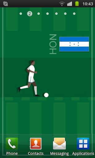 Honduras Soccer LWP
