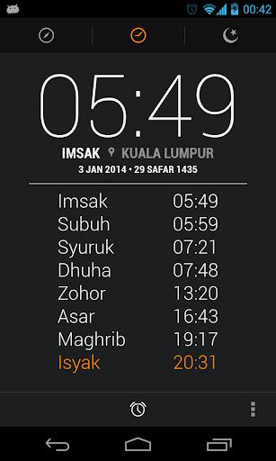 Malaysia Prayer Times