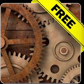 Rusty gears free livewallpaper