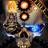 Steampunk Skull Free Wallpaper mobile app icon