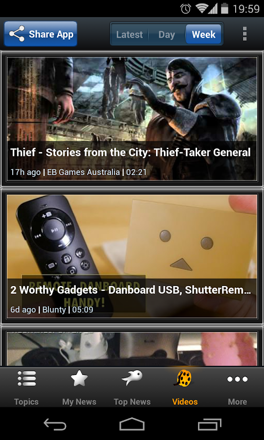 Australian Tech - Newsfusion - screenshot
