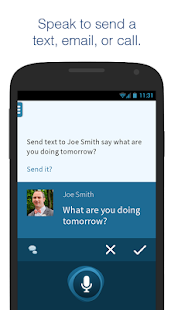 Dragon Mobile Assistant Screenshot