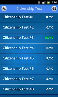 US Citizenship Test- screenshot thumbnail