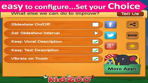 Kids Zoo,Animal Sounds & Photo Screenshot 30