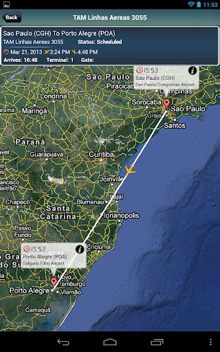 Porto Alegre Airport + Tracker