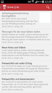 BFC Rimbach- screenshot thumbnail