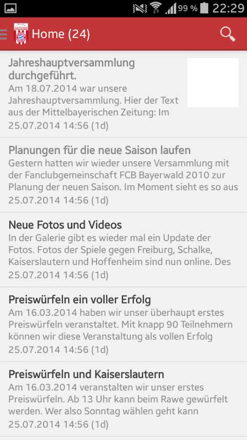 BFC Rimbach- screenshot