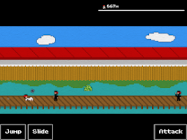 Screenshot of Kung Fu FIGHT!