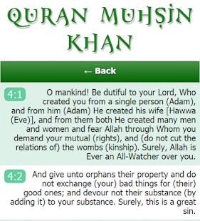 Lastest Quran Muhsin Khan APK for Android