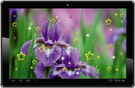 Iris Amazing live wallpaper 玩個人化App免費 玩APPs