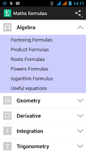 Free Maths formulas for Engineering APK