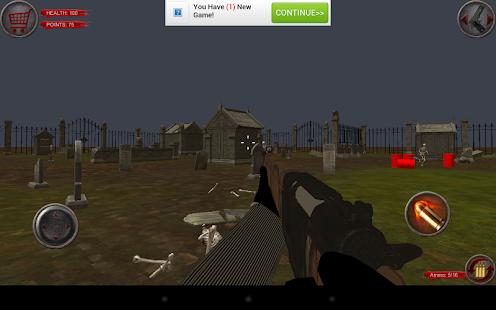 殭屍遊戲殺手3D