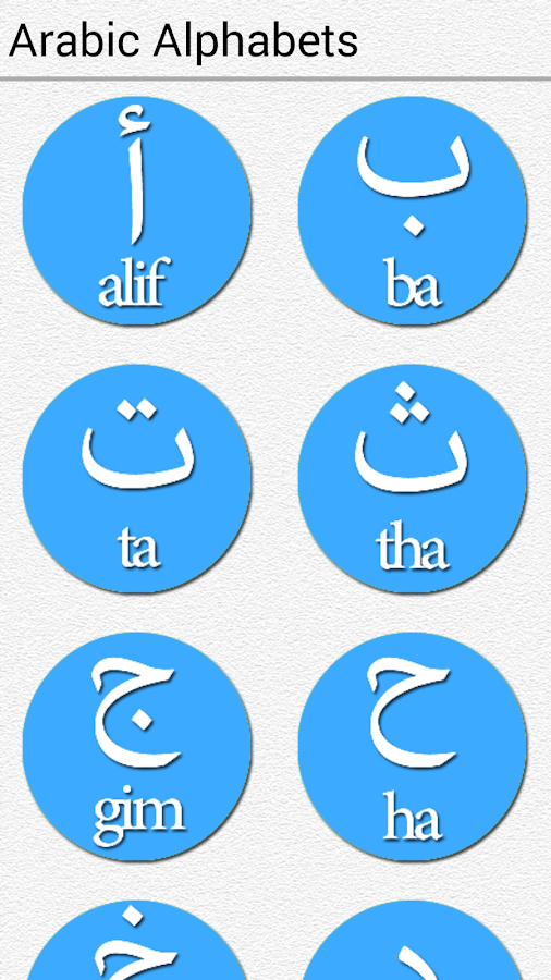 Arabic Alphabet For Beginners