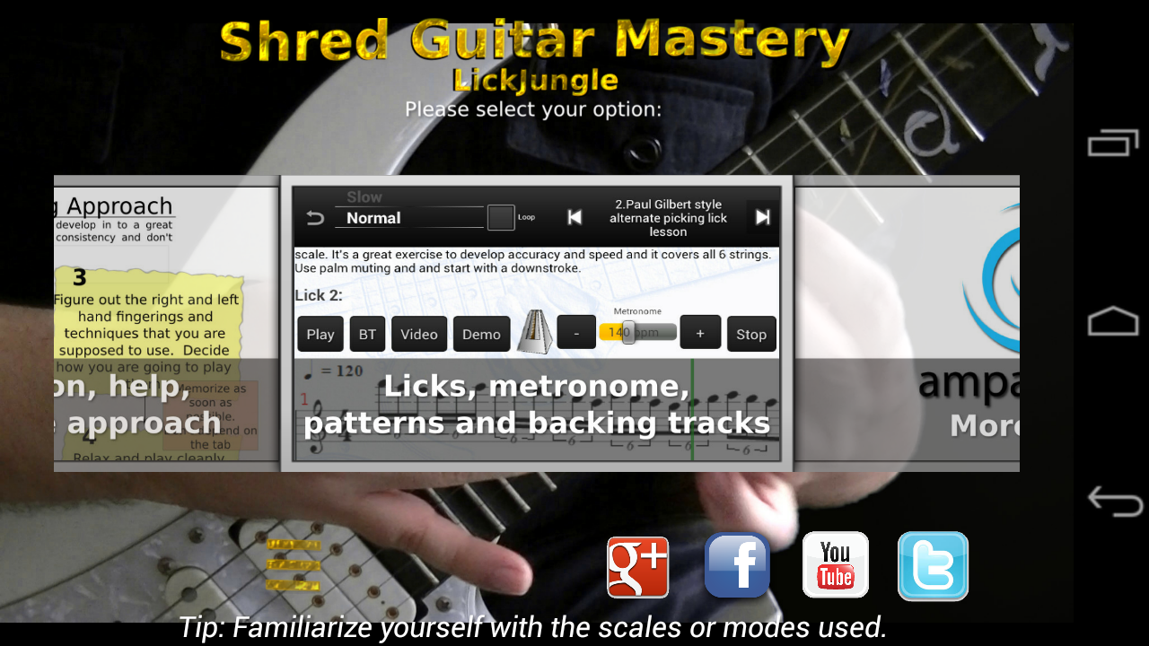 Shred Guitar Mastery Free - screenshot