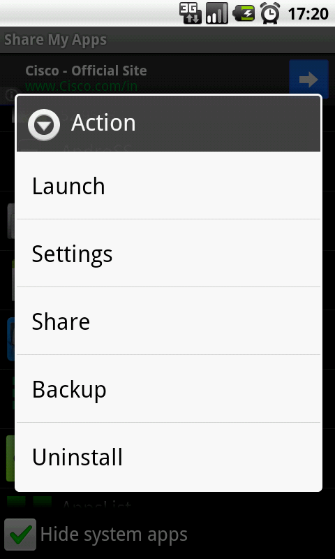 Share Apps - screenshot