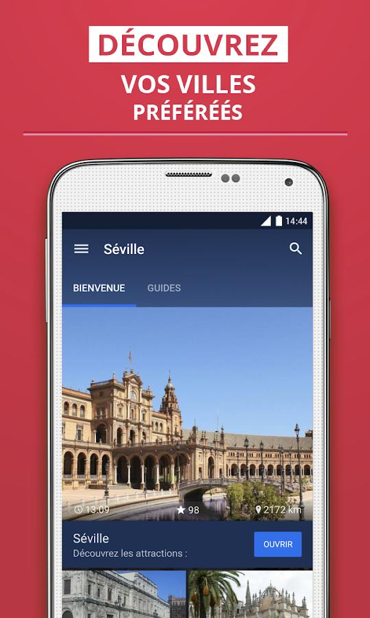 Séville Guide de Voyage– Capture d'écran
