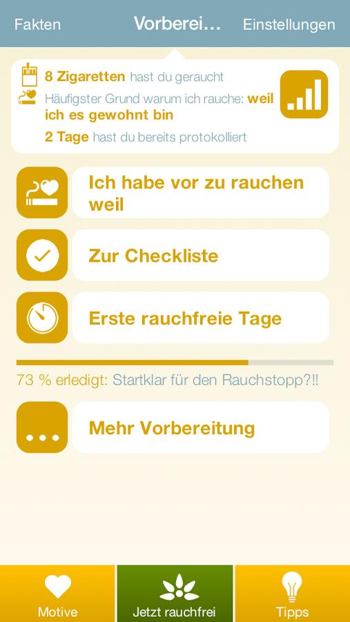 Rauchfrei App Android