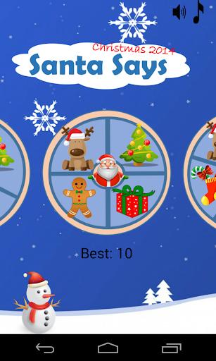 Santa Says - Christmas Game