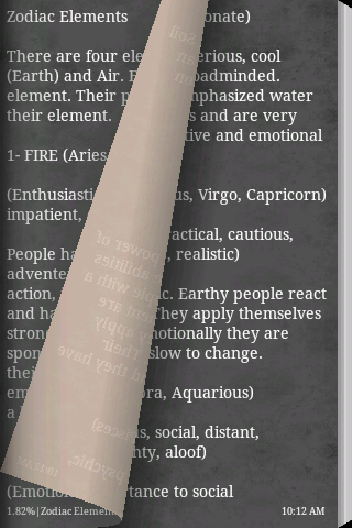 Zodiac Signs Book- screenshot