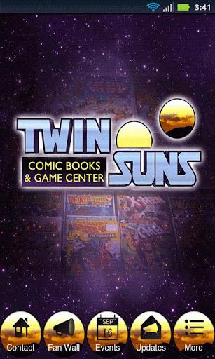【免費漫畫App】Twin Suns-APP點子