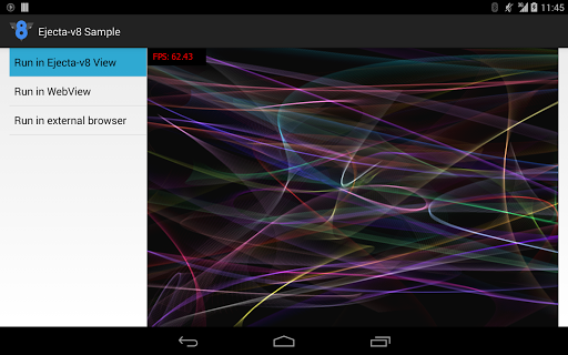 Ejecta v8 Sample 1.0 screenshots 2