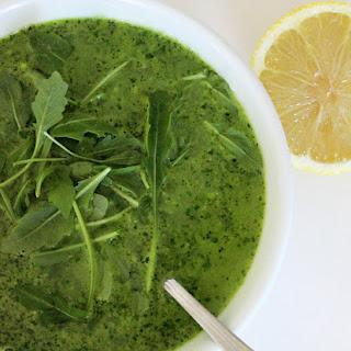 Broccoli and Arugula Soup