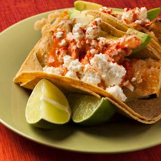 Acorn Squash Tempura Tacos with Spanish Paprika