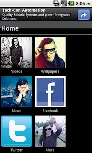 Skrillex Fan App - screenshot thumbnail