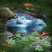 Paradise Garden Live Wallpaper