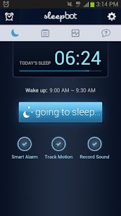 SleepBot - Sleep Cycle Alarm - screenshot thumbnail