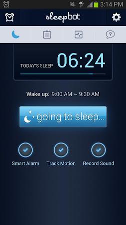 SleepBot - Sleep Cycle Alarm 3.2.8 screenshot 268008