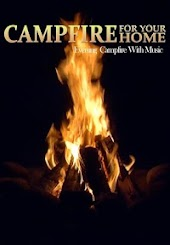 Campfire for Your Home: Evening Campfire with Music