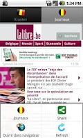 Screenshot of Newspapers BE