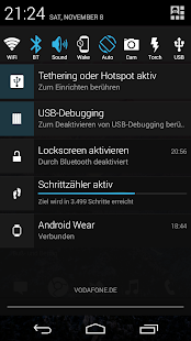 Notification Toggle Screenshot