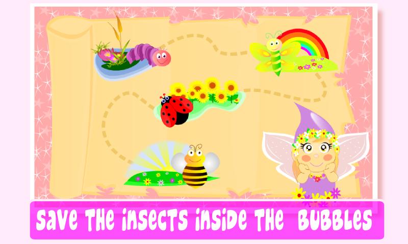 Fairy Bubbles for kids- screenshot