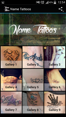 Name Tattoos - screenshot
