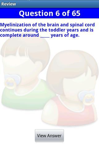 Pediatric Nursing in a Flash- screenshot