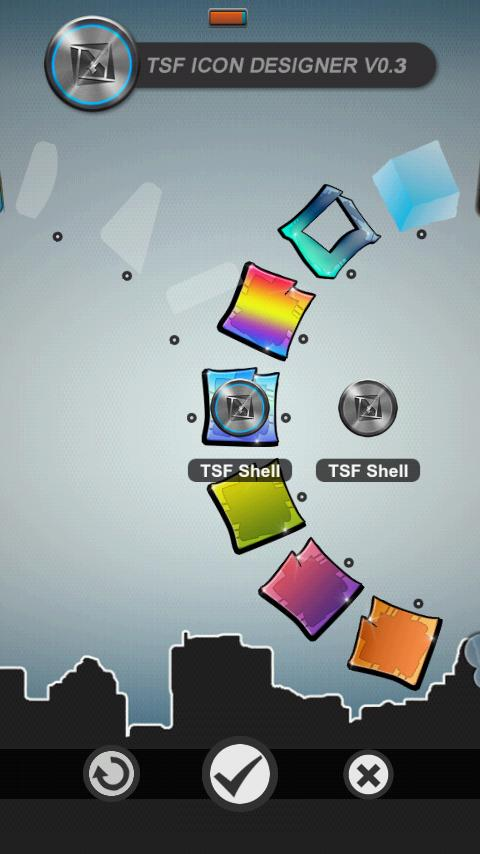 Graffiti Theme HD TSF Shell - screenshot