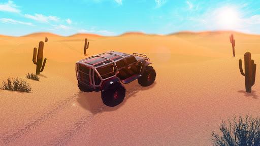 【免費賽車遊戲App】4x4 Offroad Desert 3D-APP點子