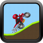 Hill Climb Motorcycle Race