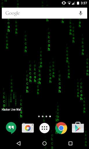 Hacker Live Wallpaper  screenshots 3
