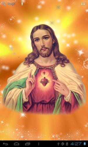 Jesus Live Wallpaper Android App Screenshot