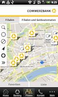 Screenshot of Commerzbank