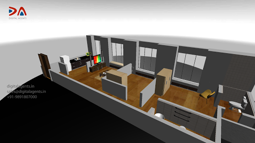 Interactive 3D Apartment