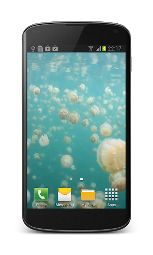 Sea Medusa Free Live Wallpaper