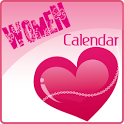 Menstrual Women Calendar icon