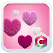 Fluffy Heart Pink Love Theme