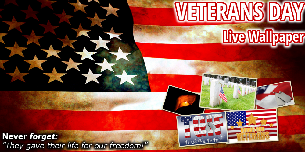 Veterans Day Live Wallpaper HD - screenshot